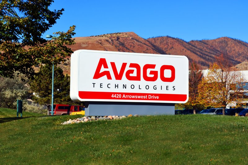 Avago Monument Sign