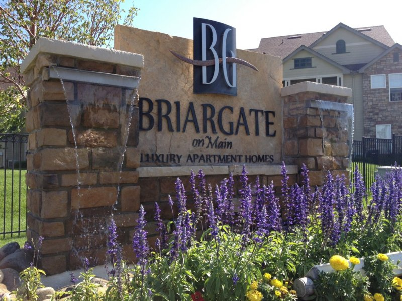 briargate-water-feature Monument Sign