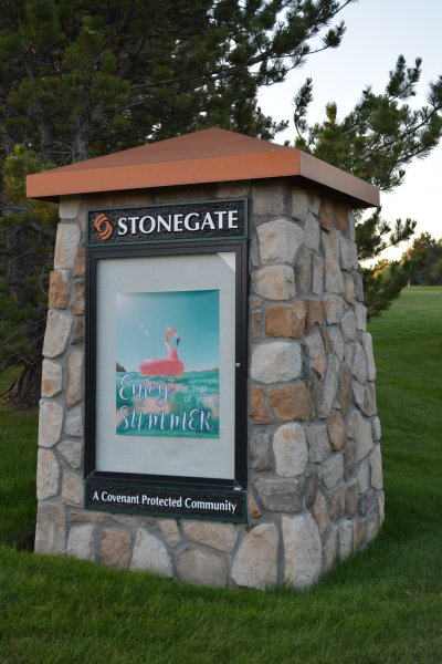 Stonegate Monument Sign