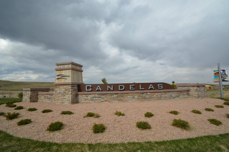 Candellas Monument Sign