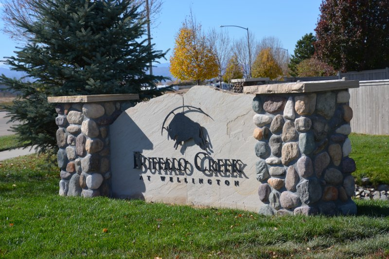 Buffalo Monument Sign