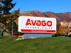 Avago Monument Sign