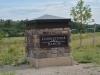 Cobblestone Monument Sign