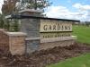 Gardens Monument Sign