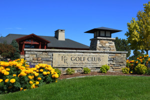 Highlands Ranch Golf Club Monument Sign