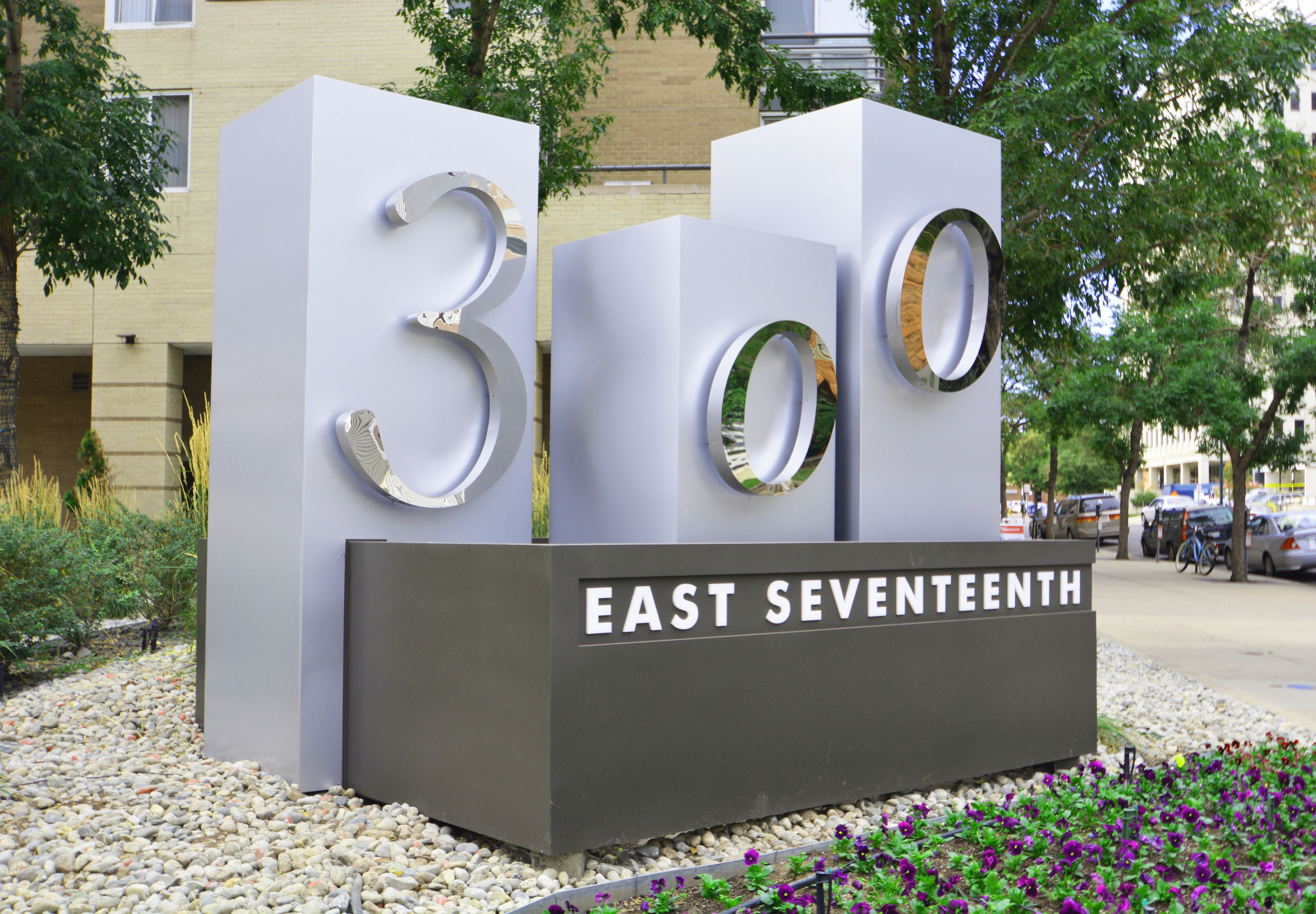 Lighted Monument Sign